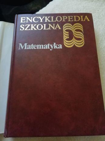 Encyklopedia szkolna matematyka w pięknej oprawie