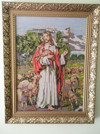 """икона """"Христос и овцы"""""""