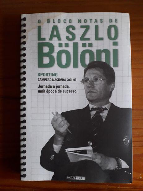 """Livro """"O bloco de notas de Laszlo Bölöni"""""""