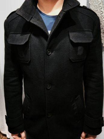 Кашемировое демисезонное пальто, размер 50.
