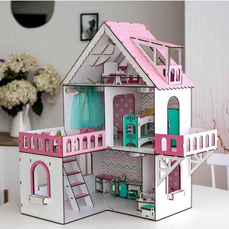 Лучший кукольный домик NestWood для куклы ЛОЛ LOL ляльковий будинок