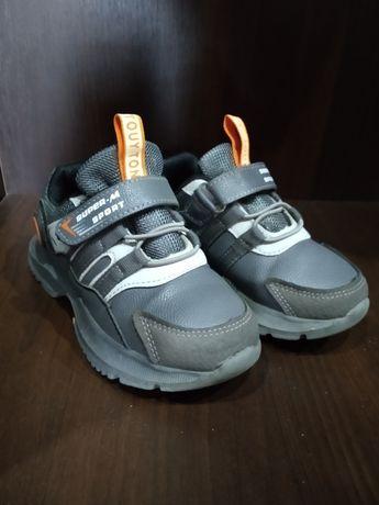 Детские кроссовки с мигалкой, 27 размер