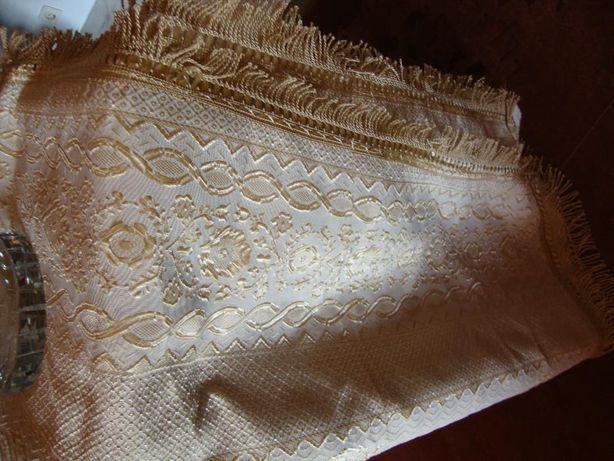 colcha de algodao e seda com 1.80x 2.20