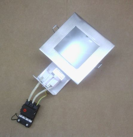 Luminária Downlight para Tecto falso C/Lampada 13W Novo