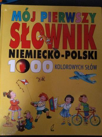Mój pierwszy słownik niemiecko-polski
