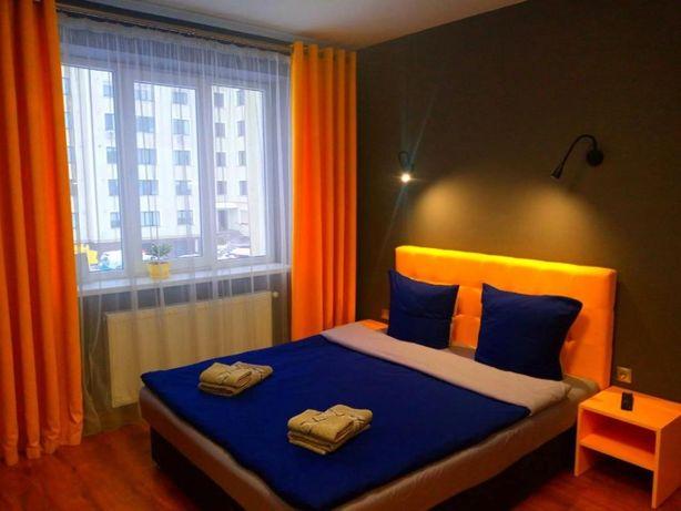 Новая квартира посуточно в центре,в Ужгороде