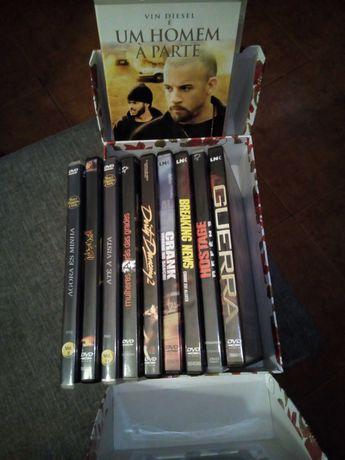 Pack Cinema 10 filmes ação & suspense. Novos !