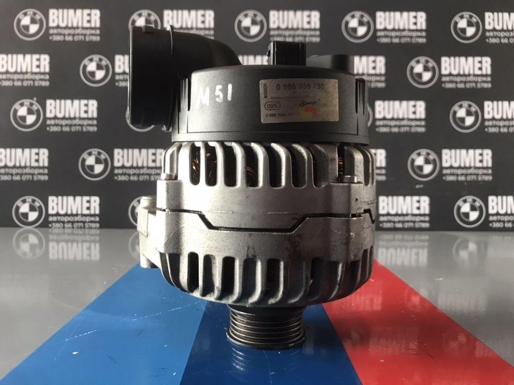 Генератор БМВ Е39 2.5 дизель ТДС м51 BOSCH 140A Оригинал Идеал Шрот