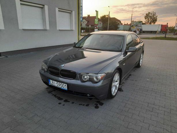 BMW e65  zadbana pełna opcja