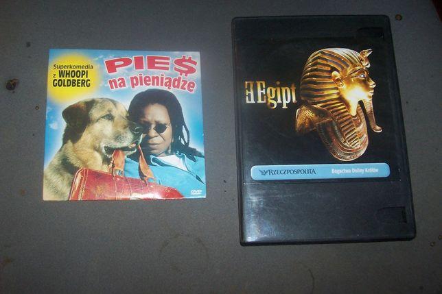 Egipt - bogowie doliny królów / Pies na pieniądze komedia DVD