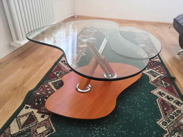 Ława szklana,( stolik) , rozkladana