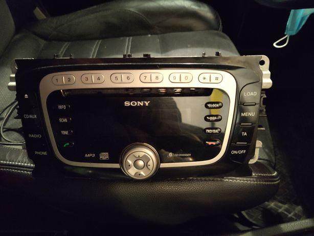 Radio Sony 6cd ford mondeo s max