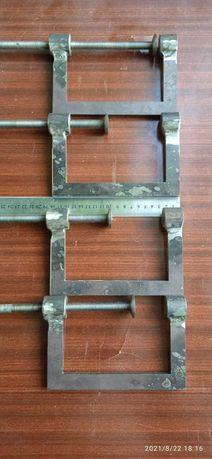 Струбцина для зажиму металлу  або інших матеріалів