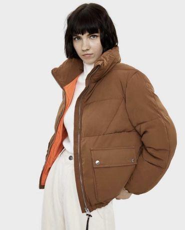 Куртка зимняя пуховик Bershka