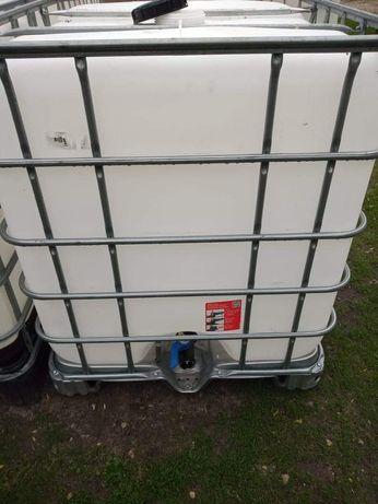 Zbiornik beczka mauser na wodę mauzer paletopojemnik ibc 1000l