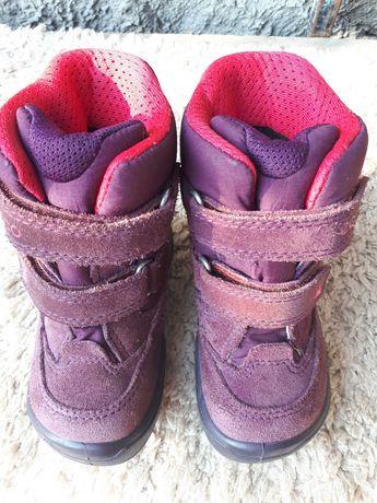 Ботинки Ессо зимние на девочку 22 размер
