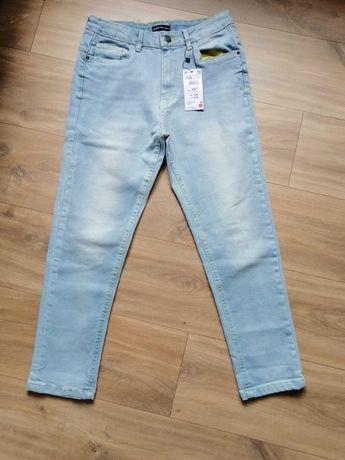 Spodnie jeans dżinsowe dla chłopca firmy Reserved r 158