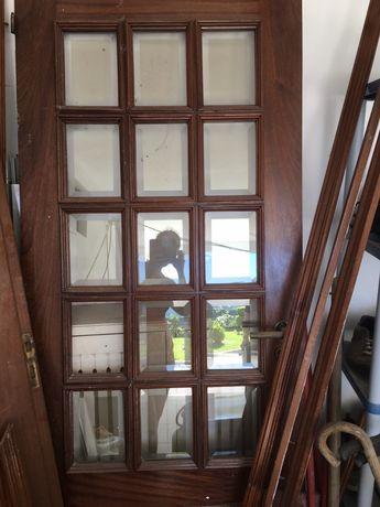 Porta em madeira maciça 80 x 200