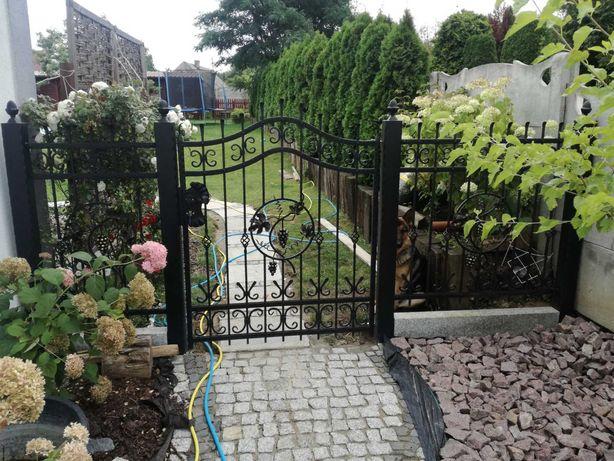Kowalstwo artystyczne ogrodzenia, balustrady, stal nierdzewna INOX