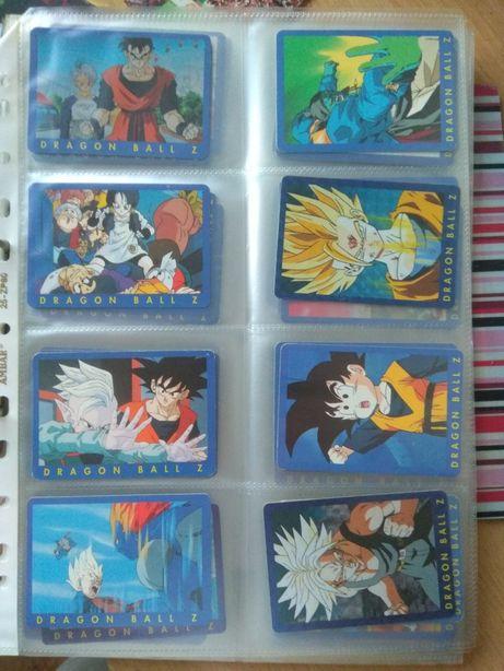 72 Carta Dragon Ball z serie 1 azul