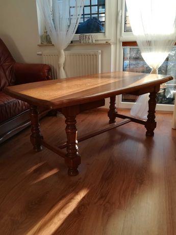 ława, stolik drewniany duży