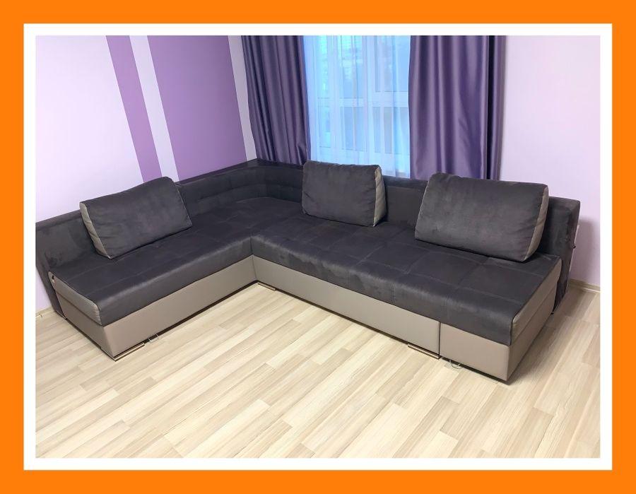 Угловой диван. Диван. Раскладной диван. Мягкая мебель. Одесса - изображение 1