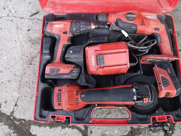 Zestaw Hilti SFC TE2 i AG 125
