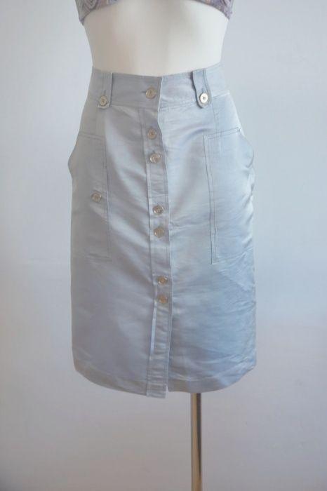 Luksusowa spódnica Aquascutum London M jedwab Barczewo - image 1