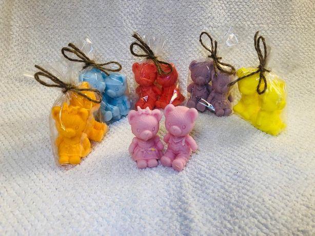 Mydełka ozdobne glicerynowe naturalne dla dzieci miś,konik pony reczni