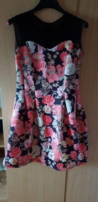 Sukienka w kwiaty S/M