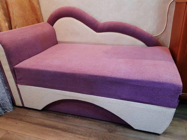 Детская кровать ( диван ) 130 (180) × 80