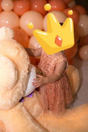 Платье персиковый цвет