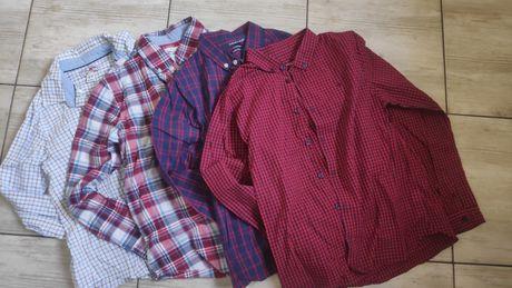 Фирменные рубашки в клетку sfera, primark 8, 10, 12 лет