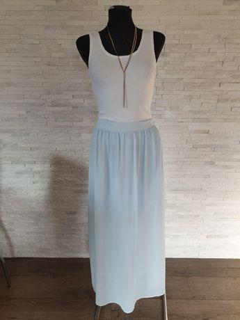 Błękitna spódnica Orsay