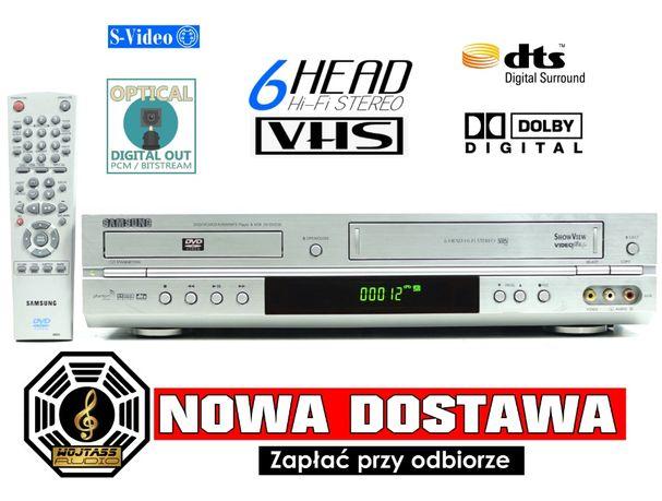 Combo odtwarzacz SAMSUNG SV-DVD3E pilot * DVD + VHS * magnetowid 6 gło