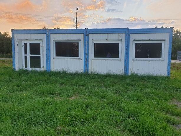 Kontenery; biurowe, socjalne, mieszkalne, budowlane 4sz.
