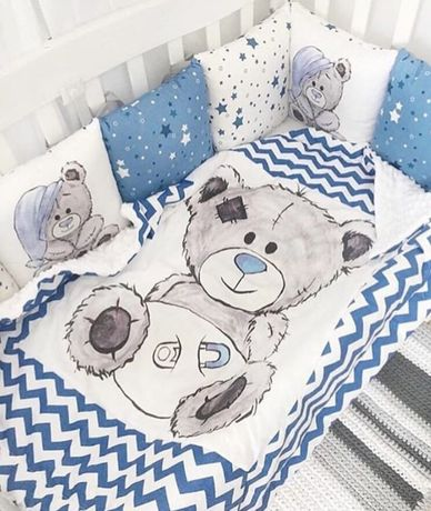 Защитные подушки для детской кроватки