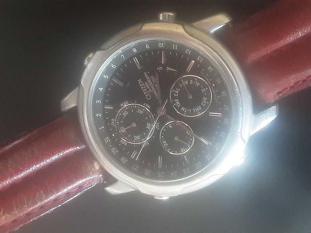 CITIZEN alarm chronograph WR 100- zaawansowanay zegarek wodoszczelny