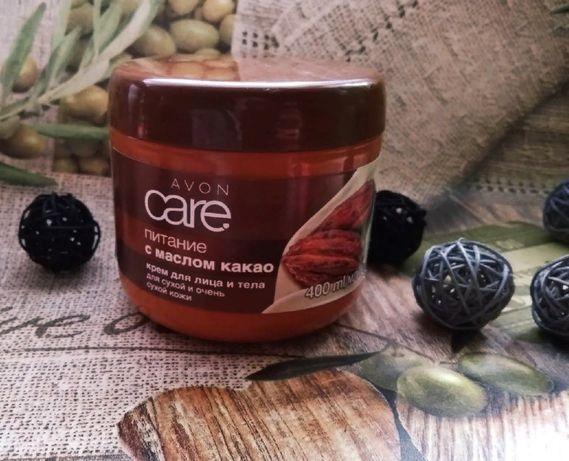 Крем для лица и тела с маслом какао. Эйвон