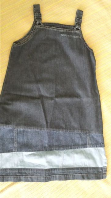 Vestido de ganga Petit Patapon - 8 anos