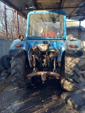 Трактор Мтз 80, культиватор, плуг, прицеп одноосн самосвал.,приц. Бочк