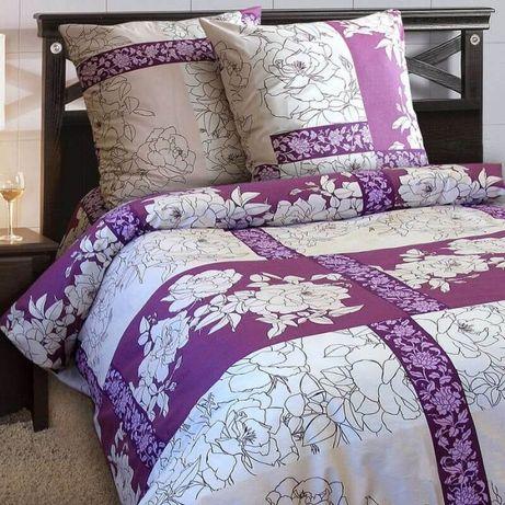 двухспальный постельный набор (комплект) хлопок