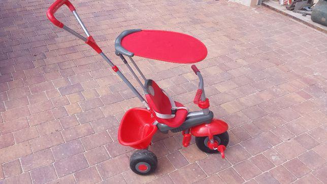 Smart Trike rowerek trójkołowy czerwony