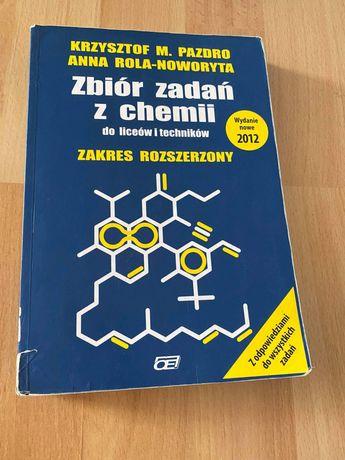 Chemia zbior zadań zakres rozszerzony Pazdro