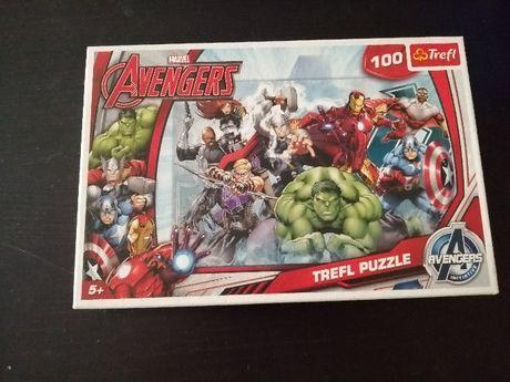 puzzle marvel avengers 100 peças + 5 anos