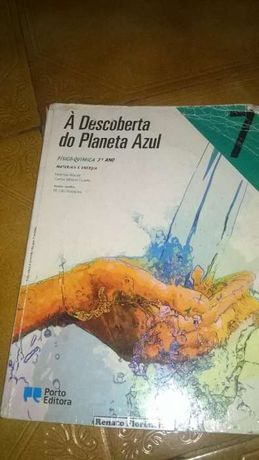 Manual A descoberta do planeta azul 7ºano-Fisico química