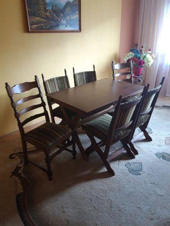 Stół + 6szt krzesła
