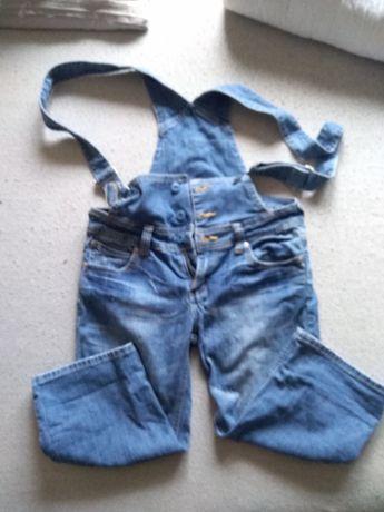 Spodenki rybaczki jeans 36 S