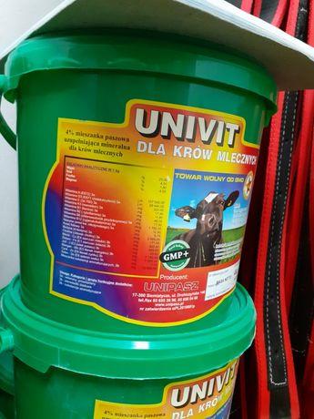 Univit krowa mleczna 4,10,20kg