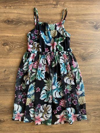 Летний сарафан платье сеточка размер 140
